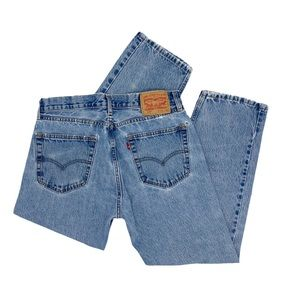 Vintage High Waisted Levi Lightly Tapered Mom Jean